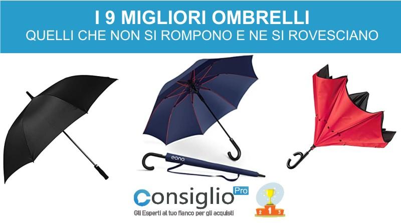 migliori ombrelli