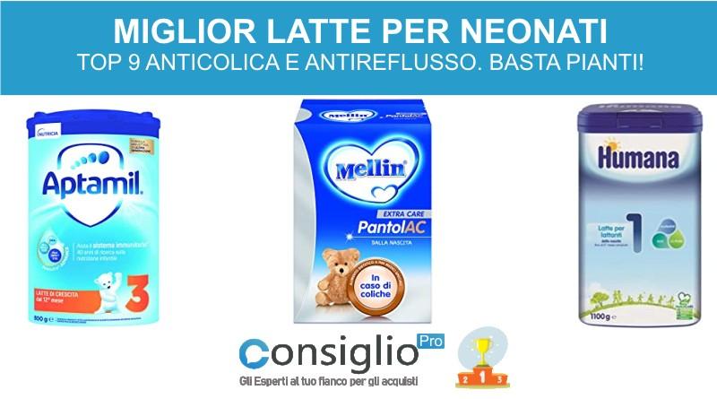 latte artificiale per neonati